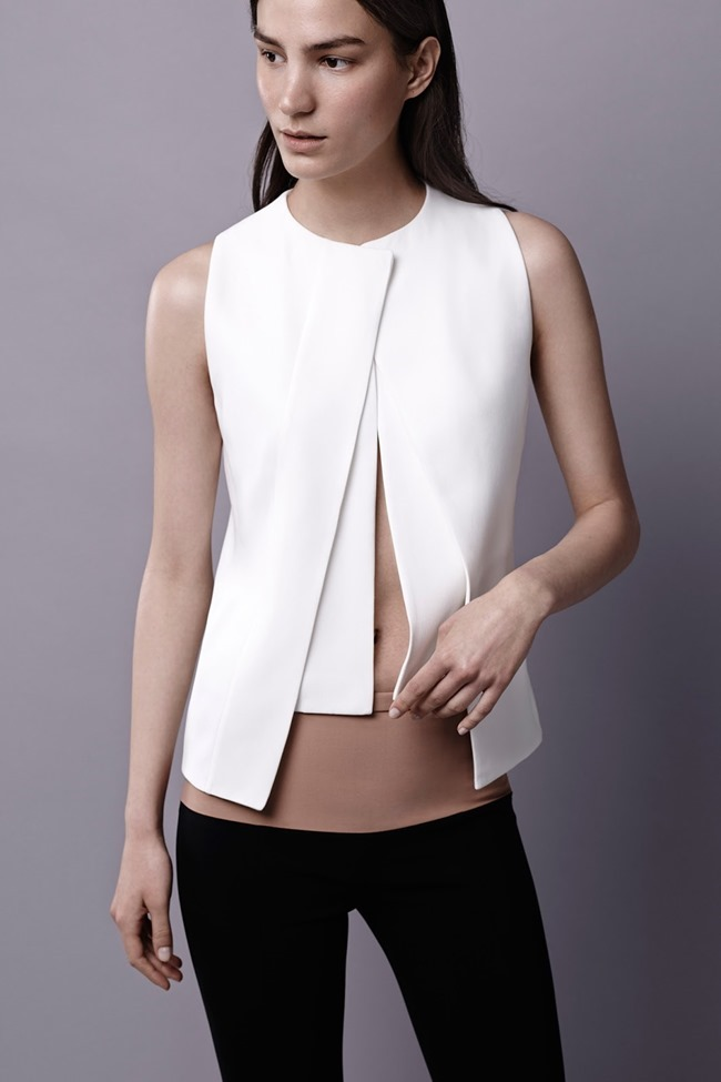 COLLECTION Ronja Furrer & Mijo Mihaljcic for Narciso Rodriguez Resort 2015. www.imageamplified.com, Image Amplified (12)