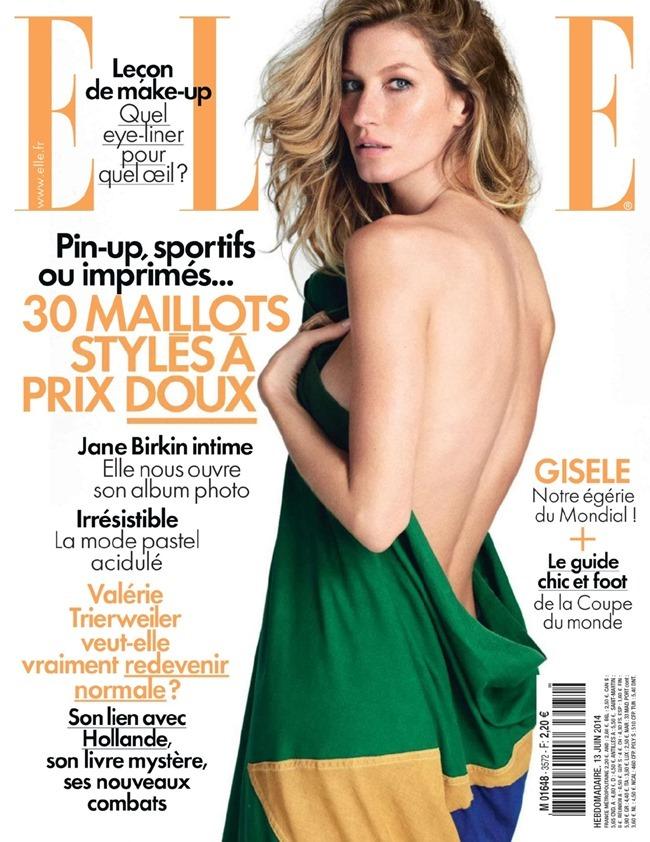 ELLE FRANCE Gisele Bundchen in L'amour Foot! by Matt Jones. Ines Nespoli, June 2014, www.imageamplified.com, Image Amplified (1)