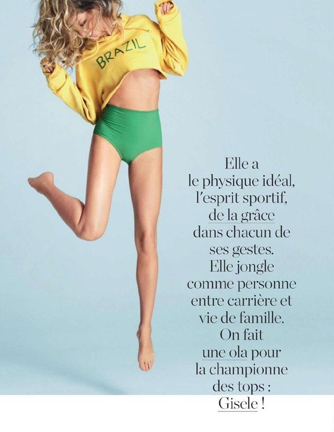 ELLE FRANCE Gisele Bundchen in L'amour Foot! by Matt Jones. Ines Nespoli, June 2014, www.imageamplified.com, Image Amplified (8)