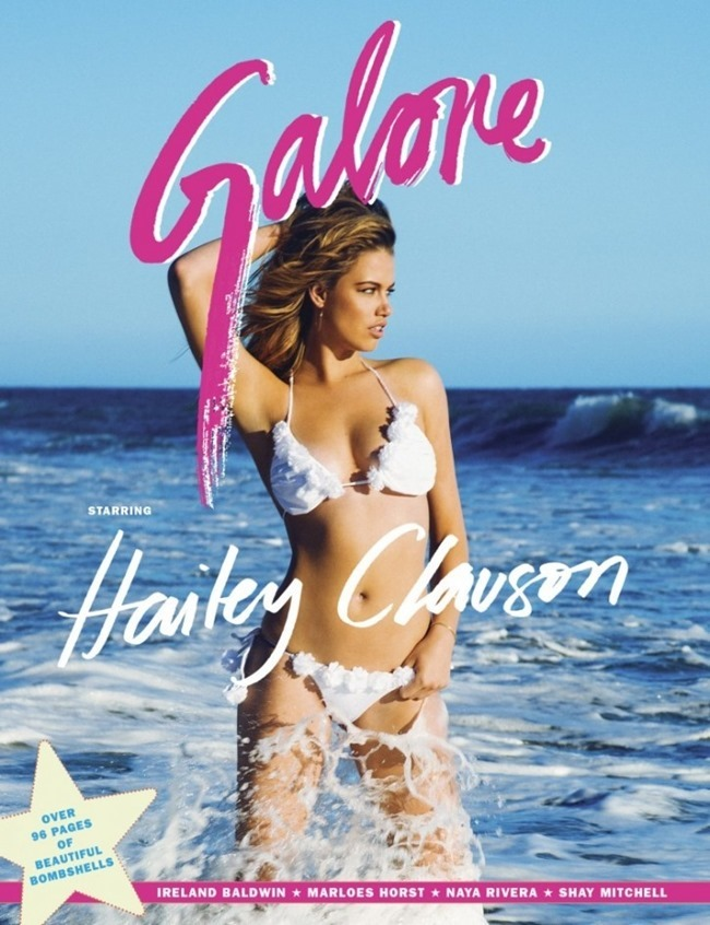 GALORE MAGAZINE Hailey Clauson by Jacob Dekat. Prince Chenoa, Summer 2014, www.imageamplified.com, Image Amplified (5)