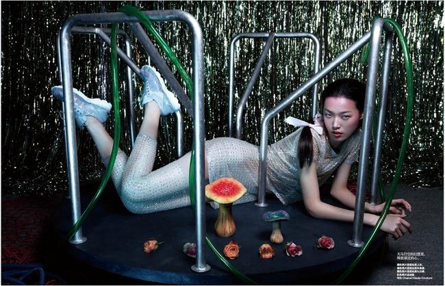 HARPER'S BAZAAR CHINA Tian yi in Cambon Club by Yi Chao. Lucia Liu, June 2014, www.imageamplified.com, Image Amplified (3)