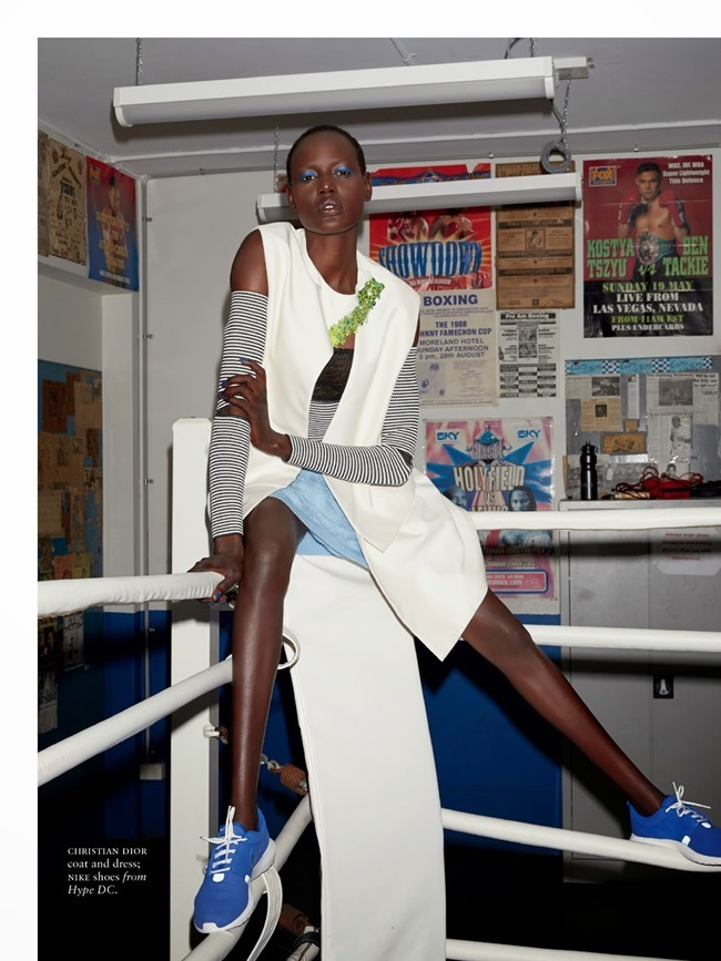RUSSH MAGAZINE Ajak Deng in She's Got Game by James Nelson. Bille Iveson, July 2014, www.imageamplified.com, Image Amplified (7)