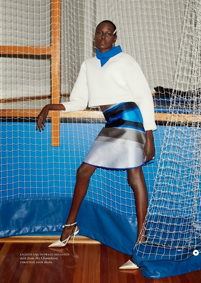 RUSSH MAGAZINE Ajak Deng in She's Got Game by James Nelson. Bille Iveson, July 2014, www.imageamplified.com, Image Amplified (9)