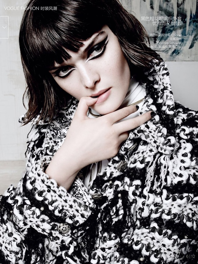 VOGUE CHINA Sam Rollinson in Private View by Tom Munro. Natasha Royt, July 2014, www.imageamplified.com, Image Amplified (7)