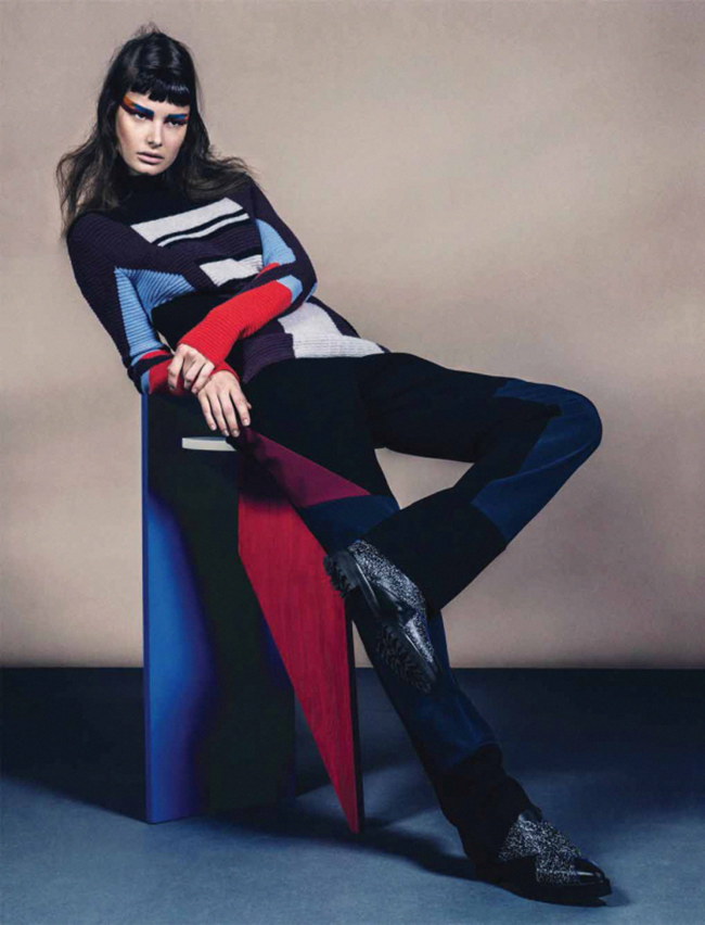 VOGUE GERMANY Ophelie Guillemand by Sebastian Kim. Katie Mossman, July 2014, www.imageamplified.com, Image Amplified (1)