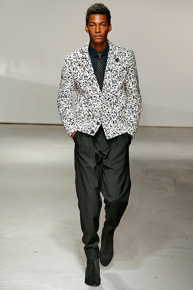 LONDON COLLECTIONS MEN Kent & Curwen Spring 2015. www.imageamplified.com, Image Amplified (8)