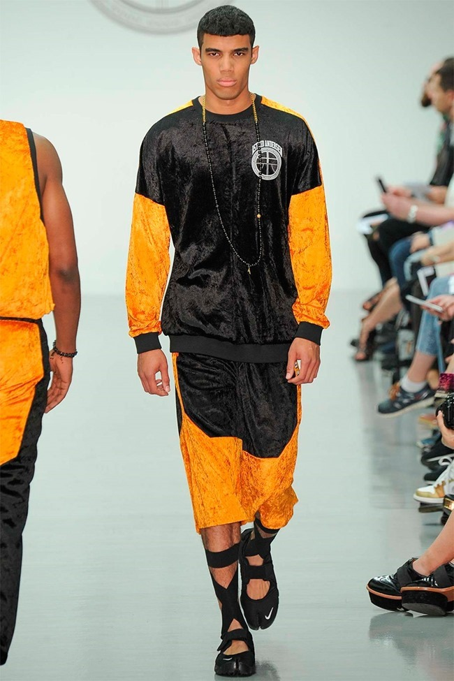 LONDON COLLECTIONS MEN Astrid Andersen Spring 2015. www.imageamplified.com, Image Amplified (1)