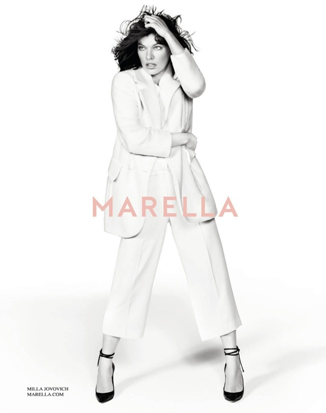 CAMPAIGN Milla Jovovich for Marella Fall 2014 by Inez & Vinoodh. www.imageamplified.com, Image Amplified (7)