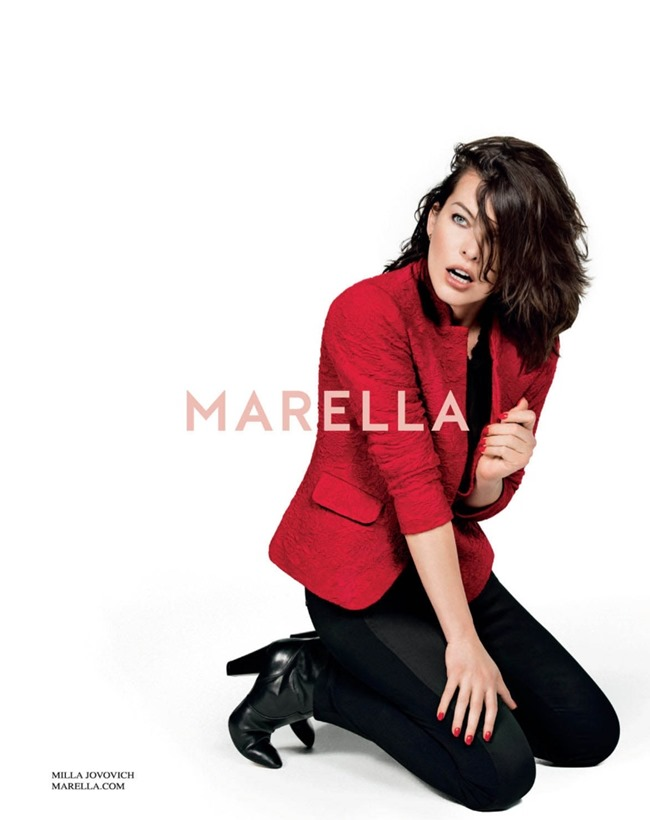 CAMPAIGN Milla Jovovich for Marella Fall 2014 by Inez & Vinoodh. www.imageamplified.com, Image Amplified (3)