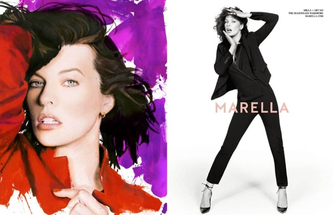 CAMPAIGN Milla Jovovich for Marella Fall 2014 by Inez & Vinoodh. www.imageamplified.com, Image Amplified (4)