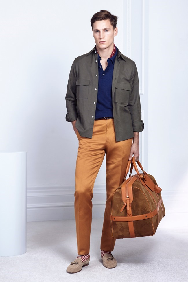 COLLECTION Will Chalker & Anton Worman for Dunhill Spring 2015. www.imageamplified.com, Image Amplified (11)
