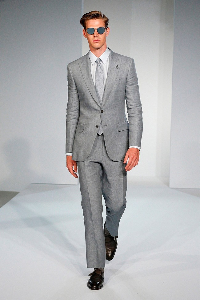 LONDON COLLECTIONS MEN Gieves & Hawkes Spring 2015. www.imageamplified.com, Image Amplified (32)