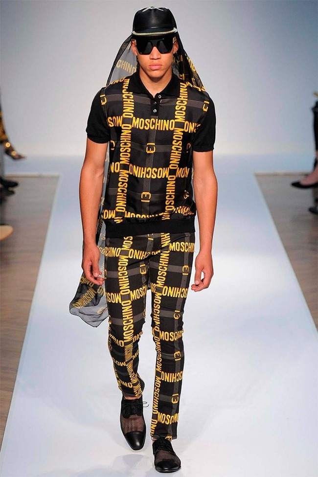 LONDON COLLECTIONS MEN Moschino Spring 2015. www.imageamplified.com, Image Amplified (3)