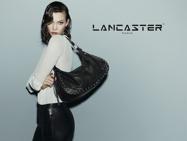 CAMPAIGN Karlie Kloss for Lancaster Paris Fall 2014 by Guy Aroch. www.imageamplified.com, Image Amplified (5)