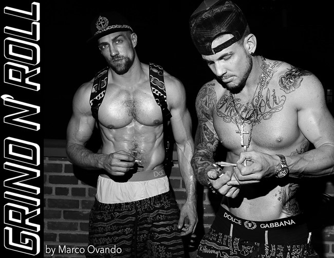HOMOTOGRAPHY Char DeFrancesco & Chris Marchant in Grind n' Roll by Marco Ovando. Summer 2014, www.imageampilfied.com, Image Amplified (2)