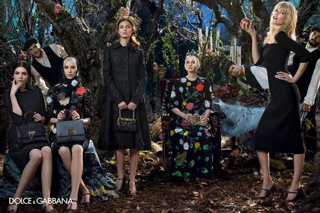 CAMPAIGN Dolce & Gabbana Fall 2014 by Domenico Dolce. www.imageamplified.com, Image Amplified (6)