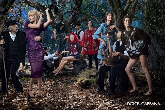 CAMPAIGN Dolce & Gabbana Fall 2014 by Domenico Dolce. www.imageamplified.com, Image Amplified (9)