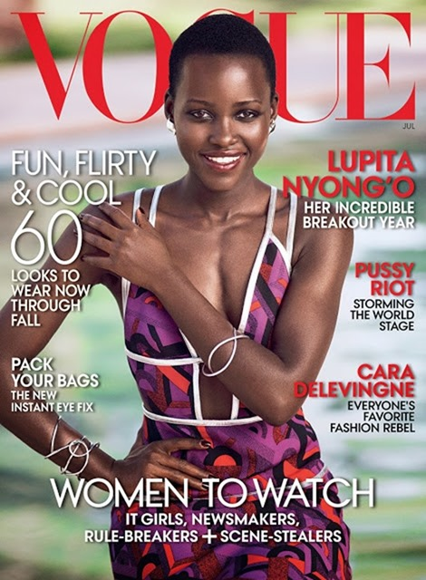 VOGUE MAGAZINE Lupita Nyong'o by Mikael Jansson. Phyllis Posnick, July 2014, www.imageamplified.com, Image Amplified (9)