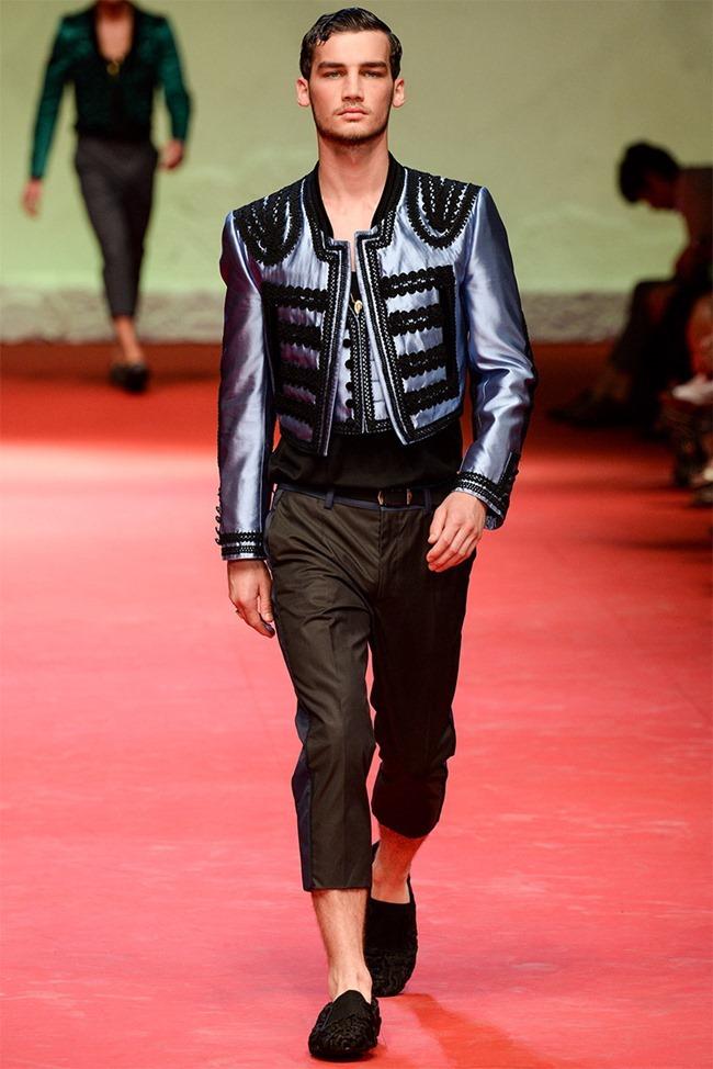 MILAN FASHION WEEK Dolce & Gabban Spring 2015. www.imageamplified.com, Image Amplified (3)