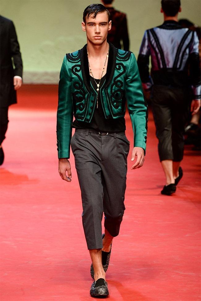 MILAN FASHION WEEK Dolce & Gabban Spring 2015. www.imageamplified.com, Image Amplified (5)