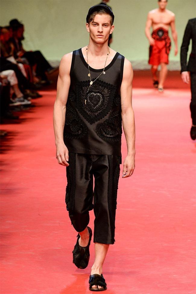 MILAN FASHION WEEK Dolce & Gabban Spring 2015. www.imageamplified.com, Image Amplified (13)