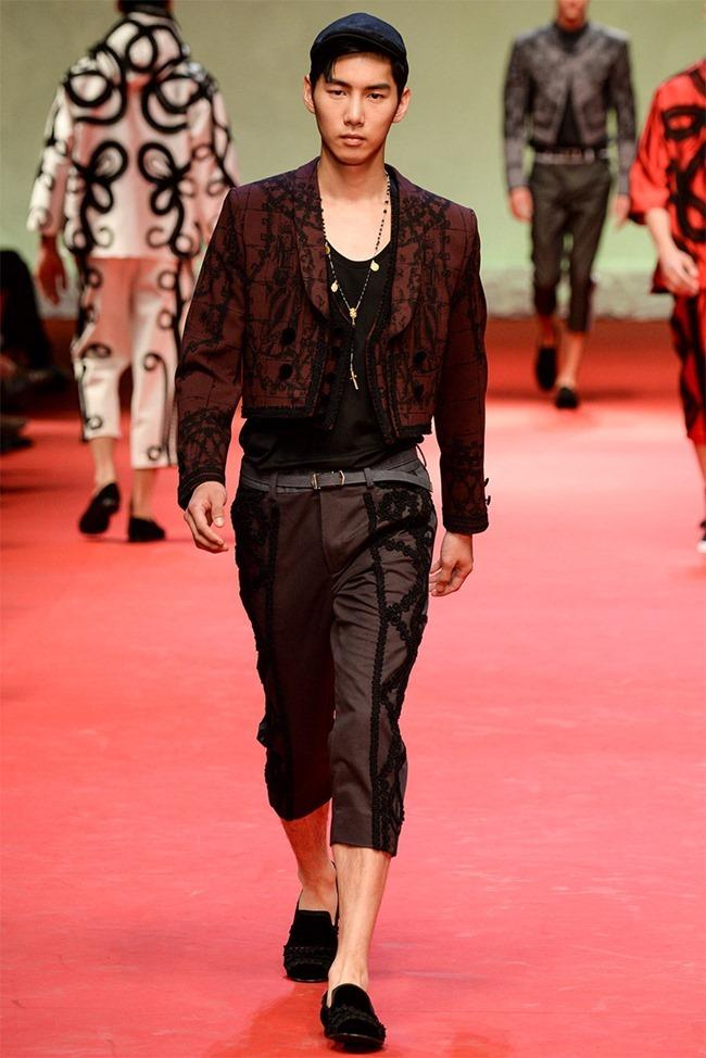 MILAN FASHION WEEK Dolce & Gabban Spring 2015. www.imageamplified.com, Image Amplified (28)