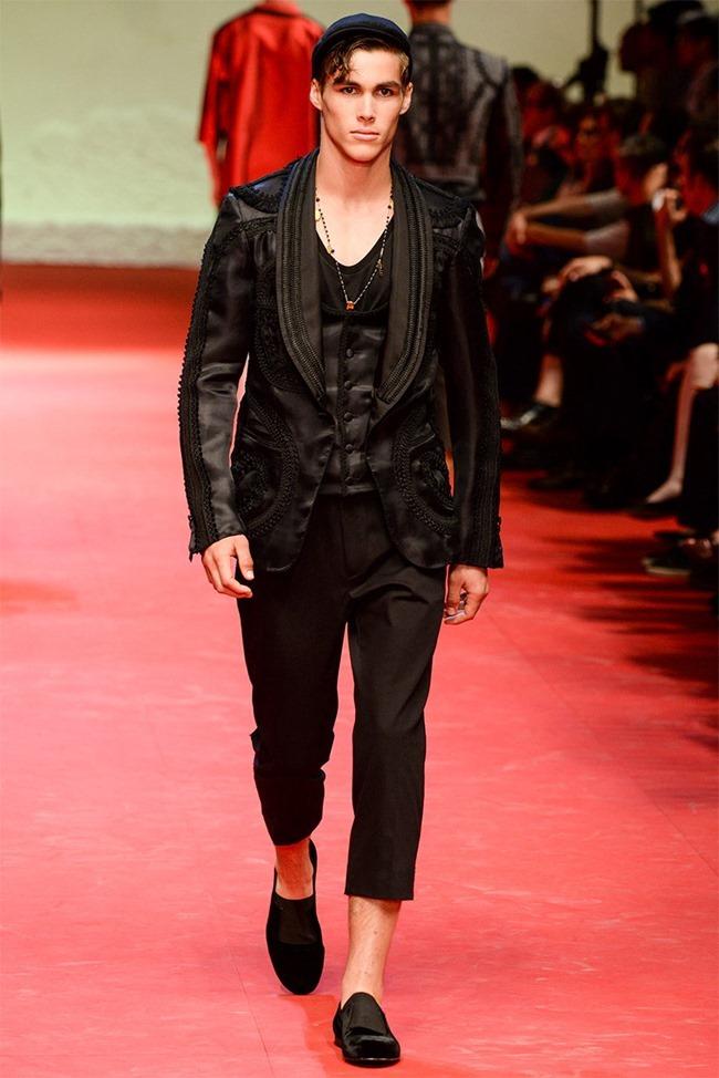 MILAN FASHION WEEK Dolce & Gabban Spring 2015. www.imageamplified.com, Image Amplified (31)
