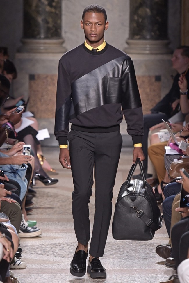 MILAN FASHION WEEK Les Hommes Spring 2015. www.imageamplified.com, Image Amplified (12)