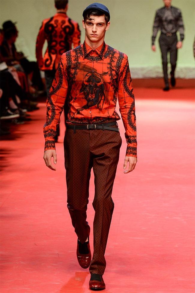 MILAN FASHION WEEK Dolce & Gabban Spring 2015. www.imageamplified.com, Image Amplified (36)