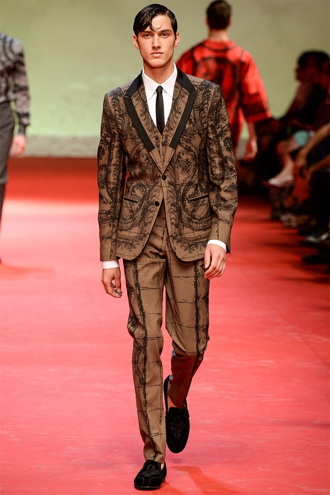 MILAN FASHION WEEK Dolce & Gabban Spring 2015. www.imageamplified.com, Image Amplified (37)