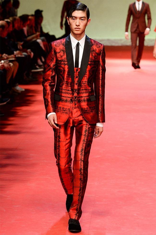 MILAN FASHION WEEK Dolce & Gabban Spring 2015. www.imageamplified.com, Image Amplified (39)