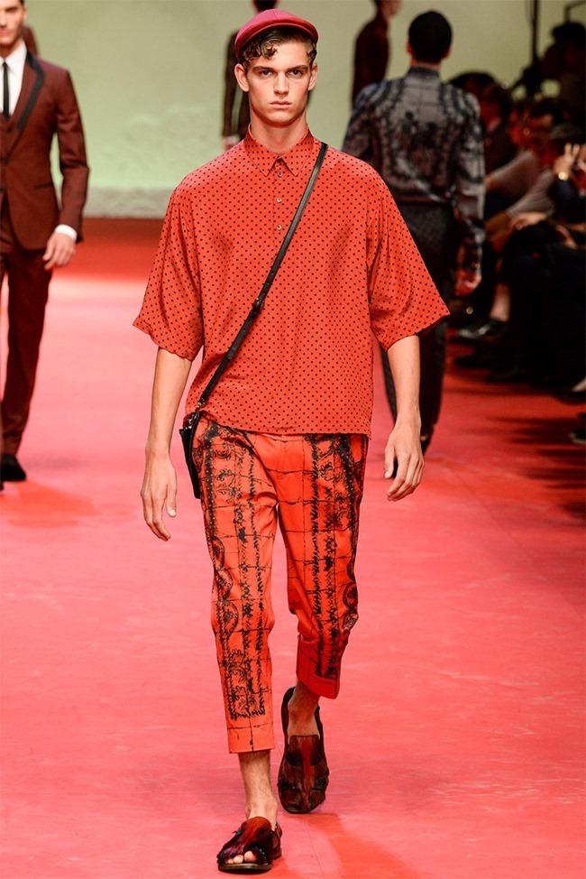MILAN FASHION WEEK Dolce & Gabban Spring 2015. www.imageamplified.com, Image Amplified (40)