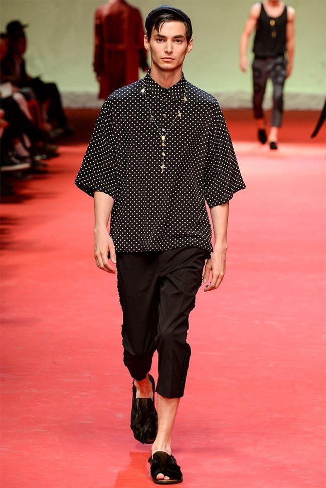 MILAN FASHION WEEK Dolce & Gabban Spring 2015. www.imageamplified.com, Image Amplified (50)