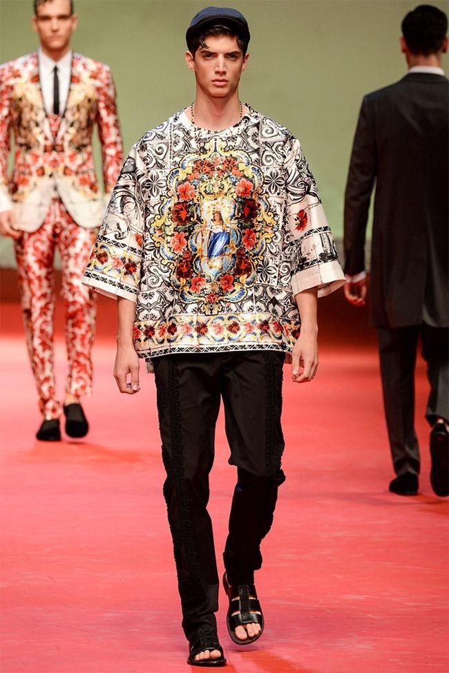 MILAN FASHION WEEK Dolce & Gabban Spring 2015. www.imageamplified.com, Image Amplified (66)