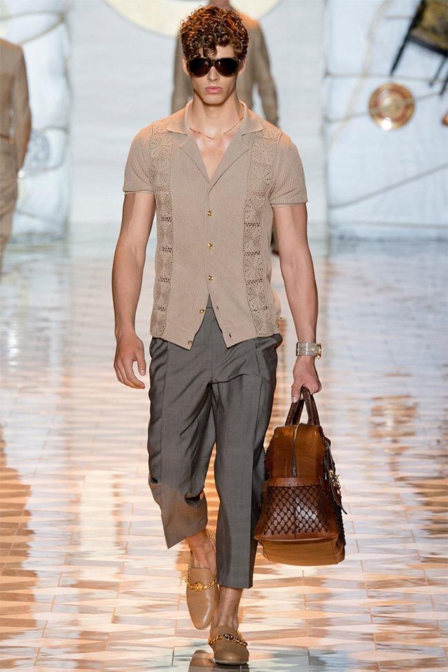 MILAN FASHION WEEK Versace Spring 2015. www.imageamplified.com, Image Amplified (9)