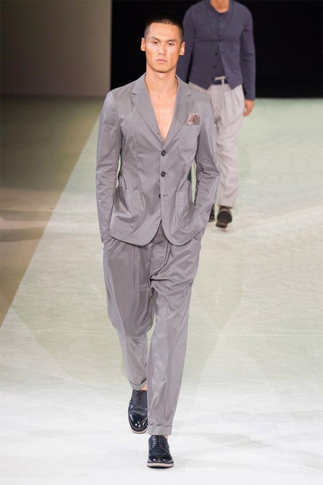 MILAN FASHION WEEK Giorgio Armani Spring 2015. www.imageamplified.com, Image Amplified (38)