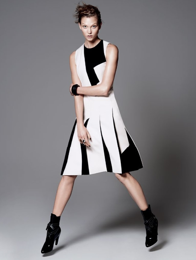 VOGUE MAGAZINE Karlie Kloss in Razor's Edge by David Sims. Tonne Goodman, July 2014, www.imageamplified.com, Image Amplified (9)