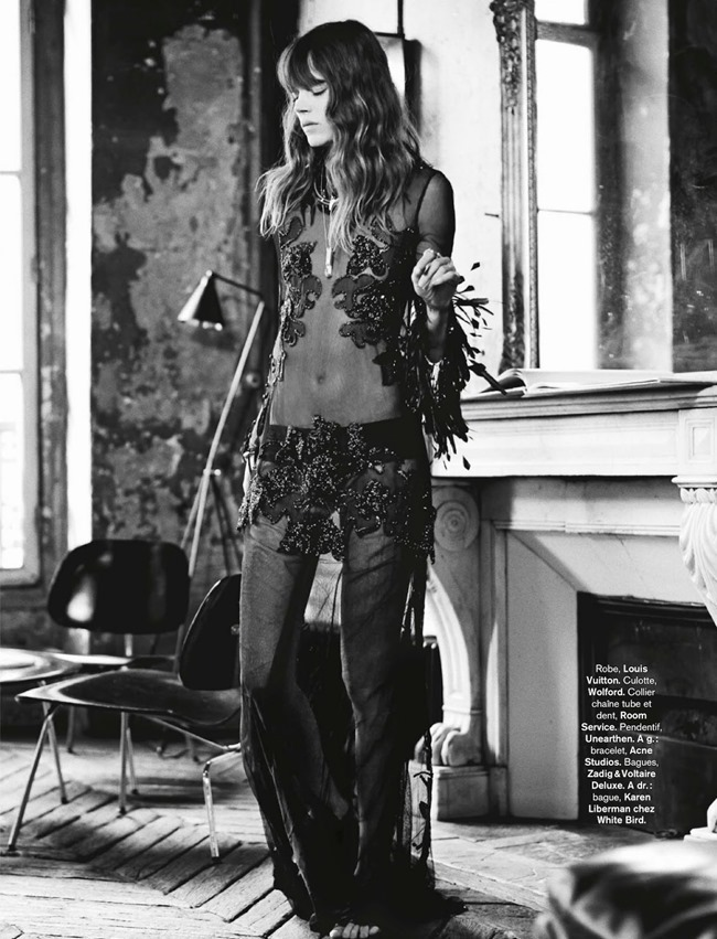 GLAMOUR FRANCE Freja Beha Erichsen in Rock & Folk by Fred Meylan. Marine Braunschvig. August 2014, www.imageamplified.com, Image Amplified (6)