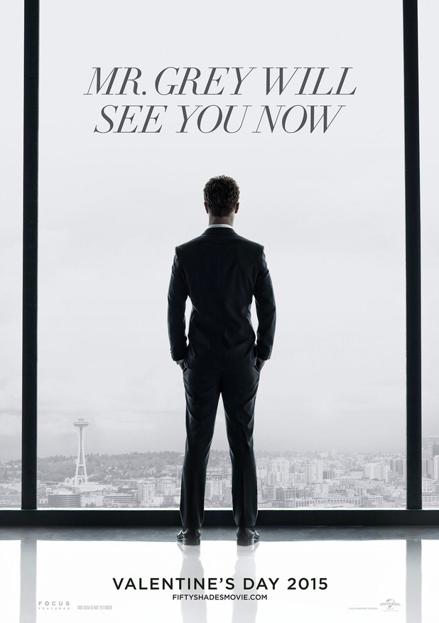 CINEMA SCAPE: 50 Shades of Grey Starring Jamie Dornan & Dakota Johnson. Out February 14, 2015