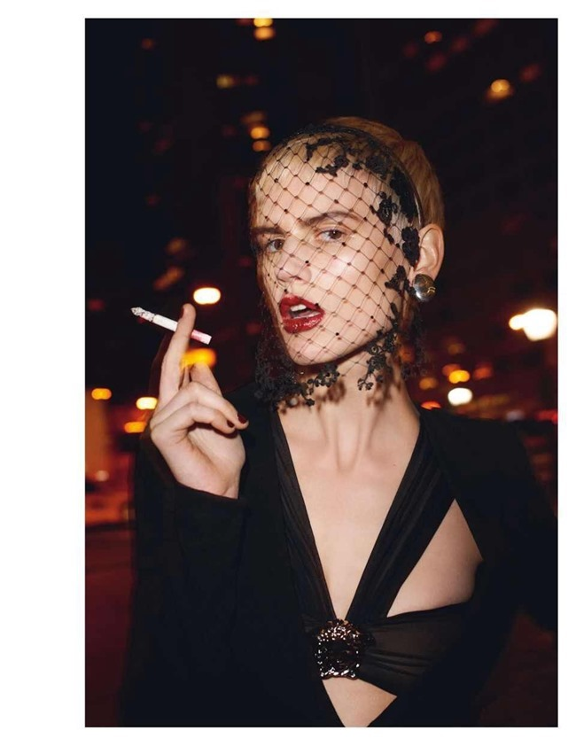 VOGUE PARIS Saskia De Brauw by Terry Richardson. Clare Richardson, February 2014, www.imageamplified.com, Image Amplified (4)