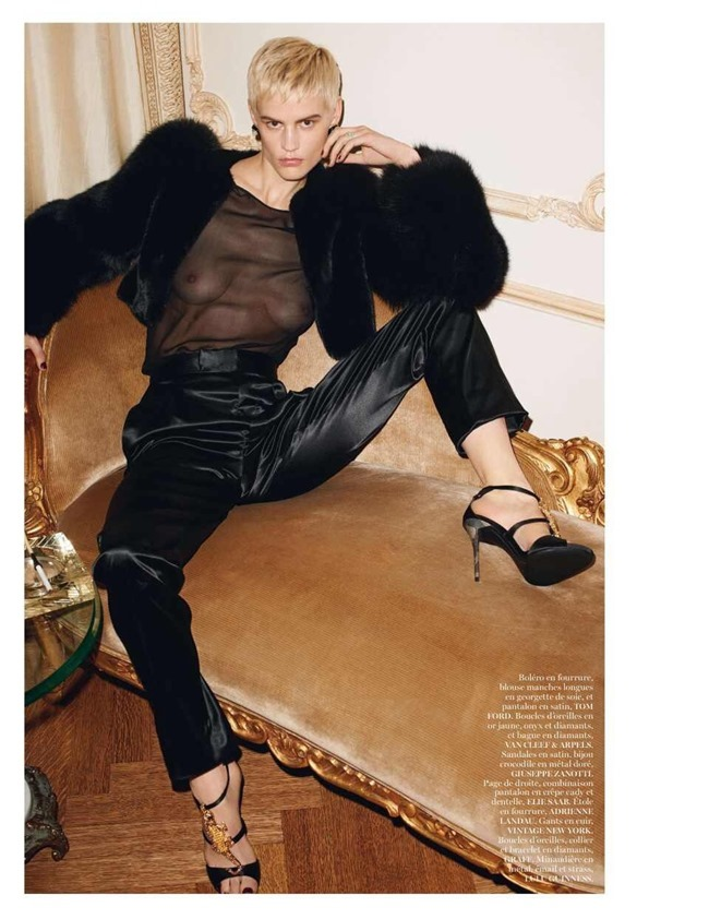 VOGUE PARIS Saskia De Brauw by Terry Richardson. Clare Richardson, February 2014, www.imageamplified.com, Image Amplified (7)