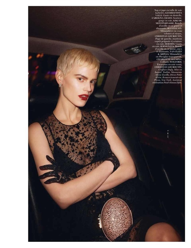 VOGUE PARIS Saskia De Brauw by Terry Richardson. Clare Richardson, February 2014, www.imageamplified.com, Image Amplified (14)