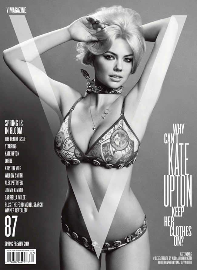 V MAGAZINE Kate Upton in The Only Way Is Upton by Inez & Vinoodh. Nicola Formichetti, Spring 2014, www.imageamplified.com, Image Amplified (2)