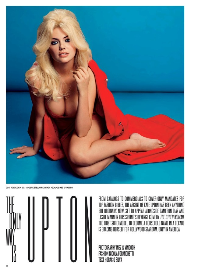 V MAGAZINE Kate Upton in The Only Way Is Upton by Inez & Vinoodh. Nicola Formichetti, Spring 2014, www.imageamplified.com, Image Amplified (3)