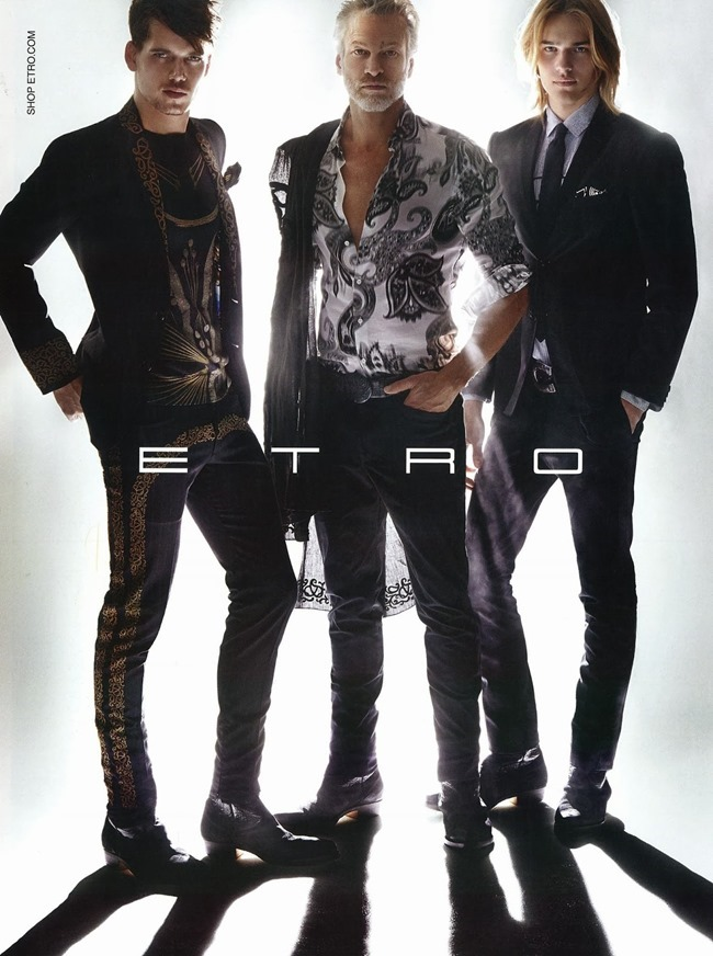 CAMPAIGN Mark Coz & Ton Heukels for Etro Spring 2014 by Mario Testino. www.imageamplified.com, Image Amplified (3)
