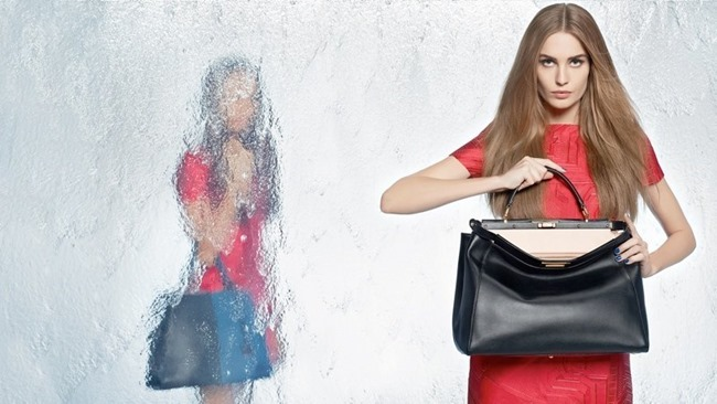 CAMPAIGN Nadja Bender & Joan Smalls for Fendi Spring 2014 by Karl Lagerfeld. www.imageamplified.com, Image Amplified (13)