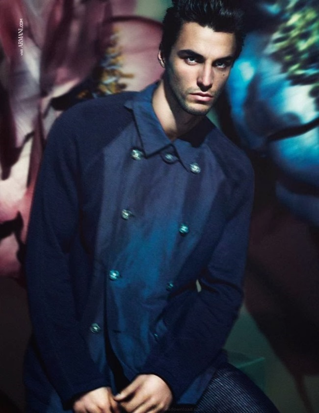 CAMPAIGN Nikolai Danielsen for Giorgio Armani Spring 2014 by Mert & Marcus. www.imageamplified.com, Image Amplified (3)