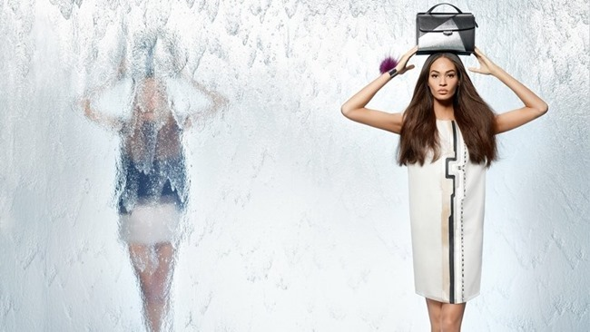 CAMPAIGN Nadja Bender & Joan Smalls for Fendi Spring 2014 by Karl Lagerfeld. www.imageamplified.com, Image Amplified (10)