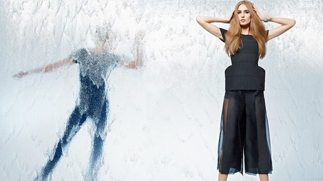 CAMPAIGN Nadja Bender & Joan Smalls for Fendi Spring 2014 by Karl Lagerfeld. www.imageamplified.com, Image Amplified (12)