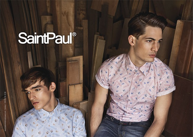 CAMPAIGN Valentin Glemarec & Kevin Drelon for SaintPaul Spring 2014 by Elodie Daguin. www.imageamplified.com, Image Amplified (3)